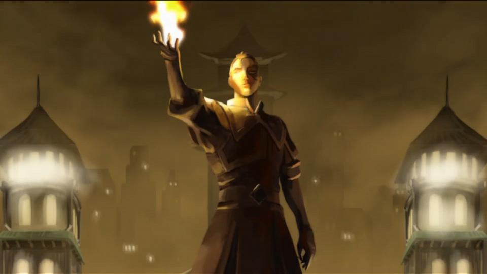 Legacy ATLA Statue Zuko In Ep 1x03