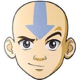 Aang Face | www.pixshark.com - Images Galleries With A Bite!