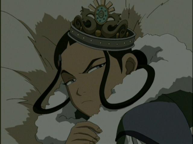 Could avatar the last airbender katara tied up